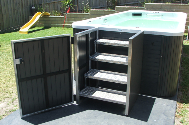 Step Safe Pool Compliant Steps