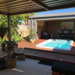 Oasis customer photo's at Spa-Rite, Perth Spa Installation
