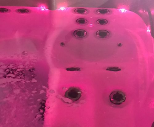 Oasis Lighting Pink at Spa-Rite