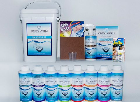 Crystal Waters Spa Chemicals at Spa Rite