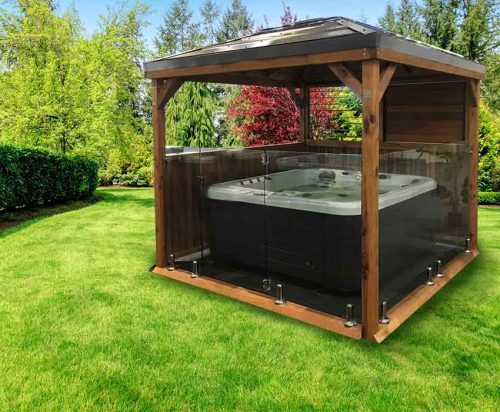 Outdoorable Gazebo's at Spa-Rite